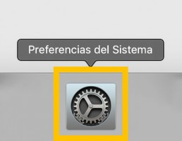icono preferencias del sistema mac