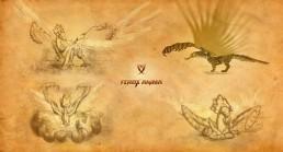 Ferox Anima. Criaturas del juego de arena.