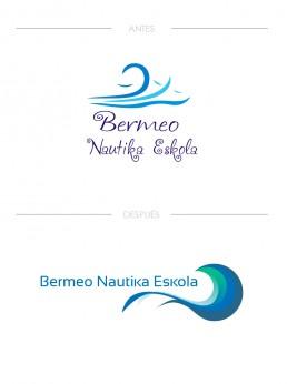 Antes y después de un logotipo. Rediseño de Logotipo Bilbao