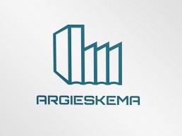Diseño de logotipo para argieskema. Diseño de Lorea Espada