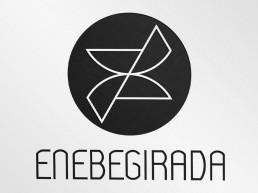 diseño del logotipo fotografía Enebegirada