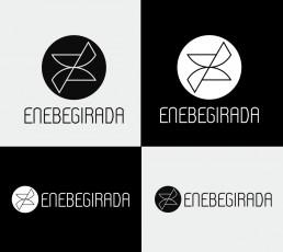 versiones de un logotipo adaptado