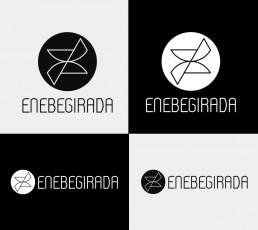 versiones de un logotipo adaptado